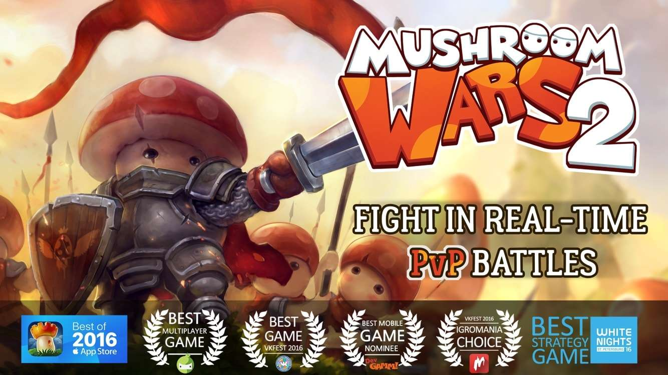 Mushroom Wars 2 - Top 10 Best Free Strategy Games for Android – 2018