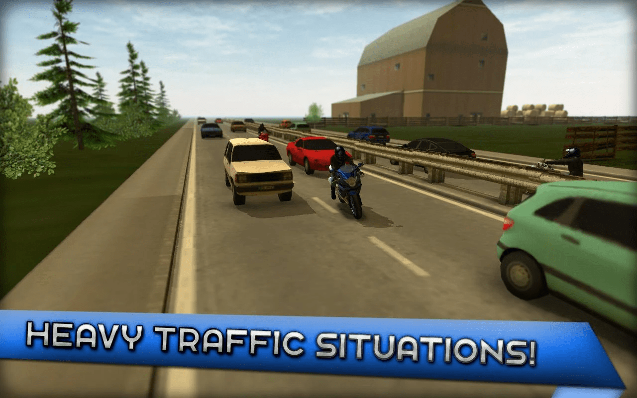 Motorcycle Driving 3D - Best Driving Simulation Games For Android 2018