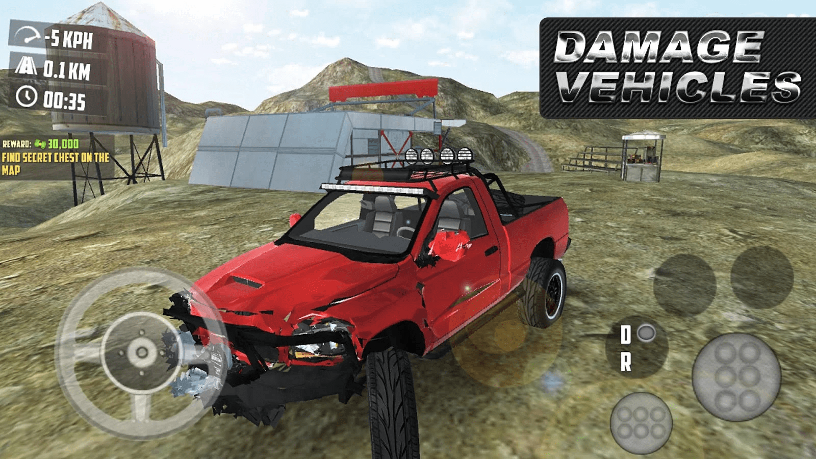 Off-road 4x4 Driving Simulator - Best Driving Simulation Games For Android 2018