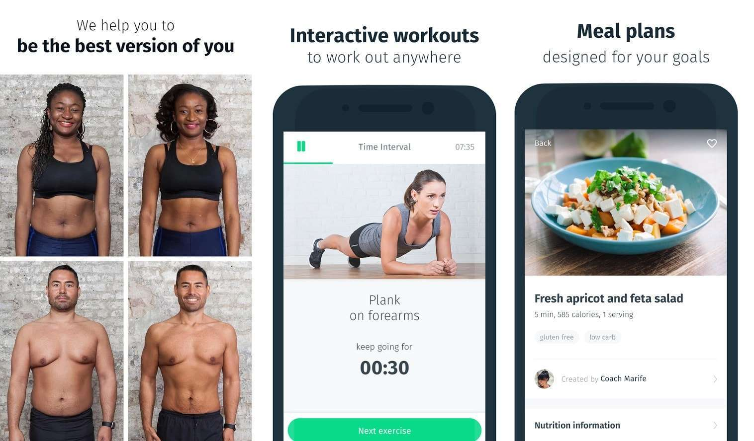 8fit - Workouts, Meal Planner & Personal Trainer -Top 10 Best Workout Apps For Android – Download Now