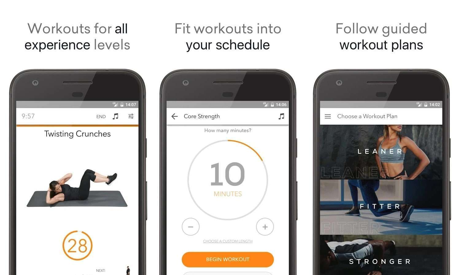 Top 10 Best Workout Apps For Android – 2018 Download Now for