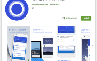 Get the Cortana app from Google Play store - How to Use Cortana on Android 2018