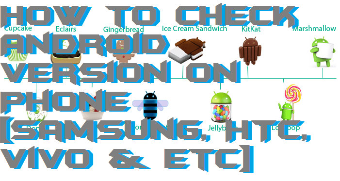 How to Check Android Version on Phone [Samsung, HTC, Vivo & etc]