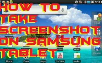 How to Take Screenshot on Samsung Tablet