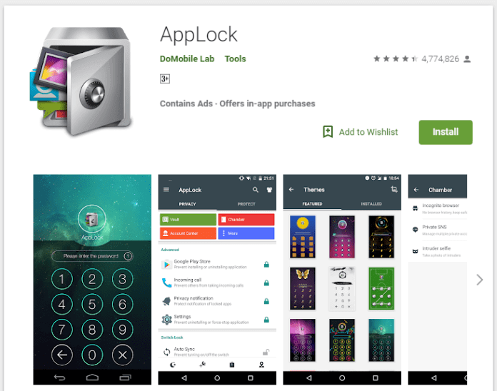AppLock - Top 3 Best Apps to Hide Text Messages and Phone Calls on Android