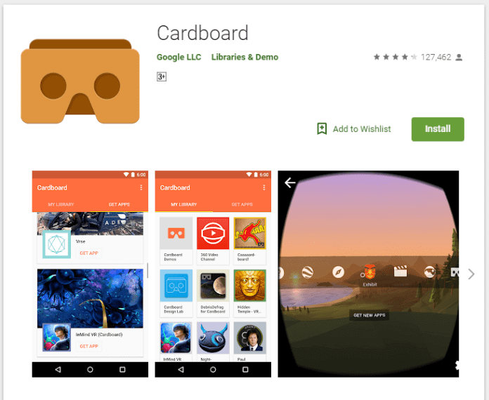 download the Google Cardboard app from your smartphone's app stores - How to Use Google Cardboard – Complete Guide
