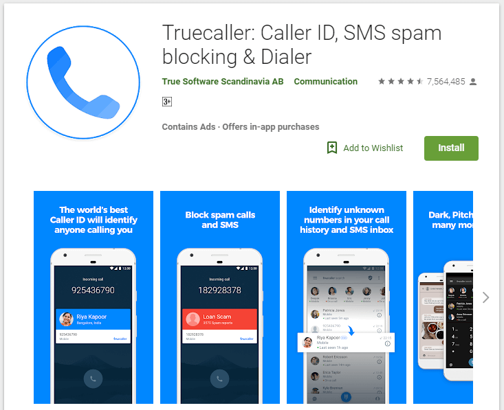 How to Block a Number on Android – Top 5 Methods 2018 -Method 3 – Using TrueCaller App