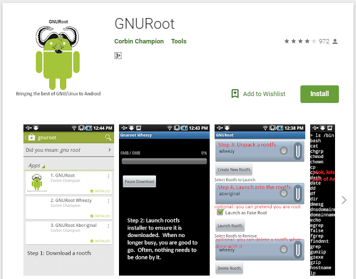 How to Install Linux on Android Without Root - Using GNURoot App