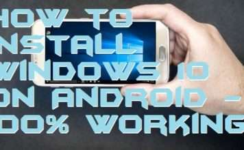 How to Install Windows 10 on Android - 100% Working