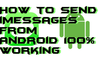 How to Send iMessages From Android 100% Working