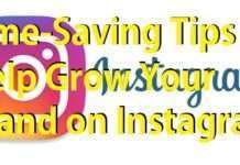 Time-Saving Tips to Help Grow Your Brand on Instagram