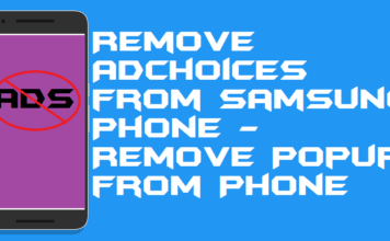 How to Remove AdChoices from Samsung Phone - Remove Popup from Phone