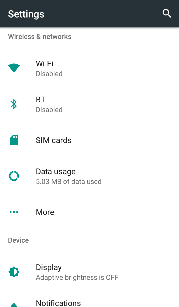 Go to the Settings - How to Check Bluetooth Version on Your Android Phone