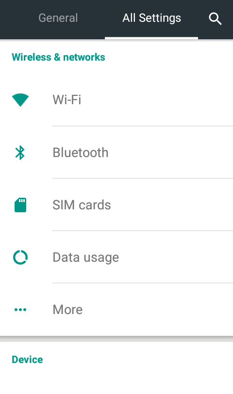 Go to the Settings - How to Encrypt Your Android Phone