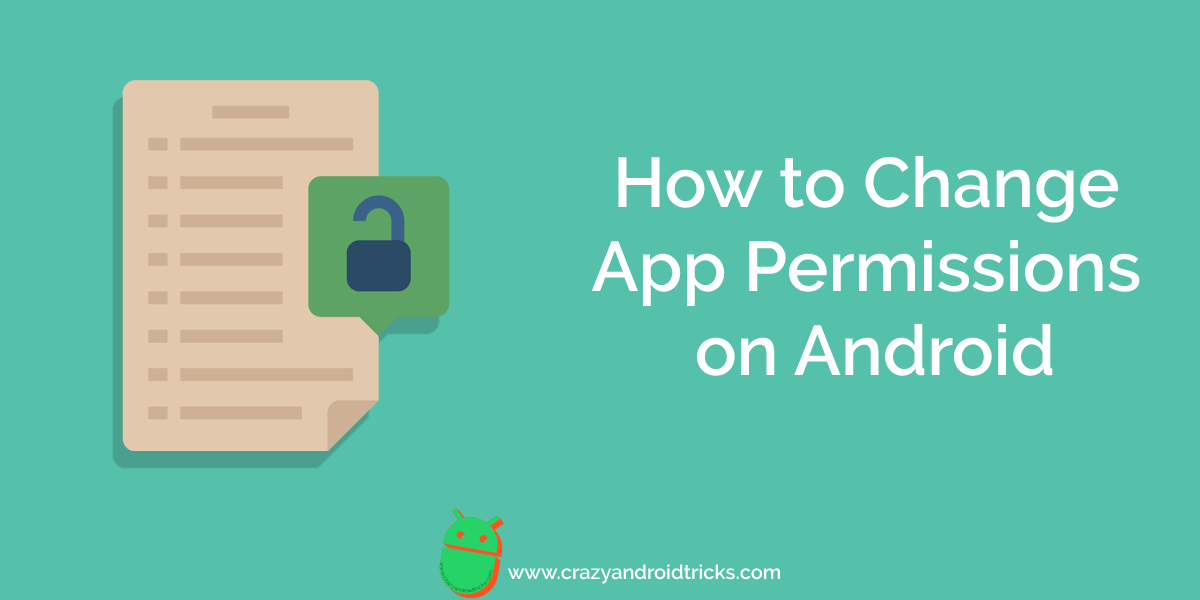 How to Change App Permissions on Android
