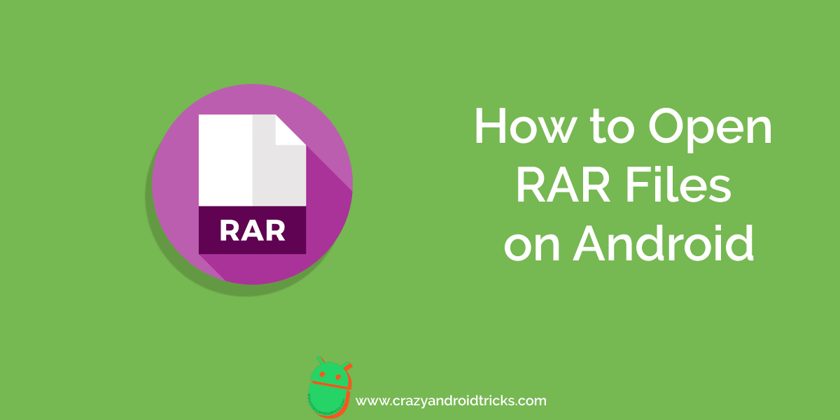 How to Open Rar Files on Android